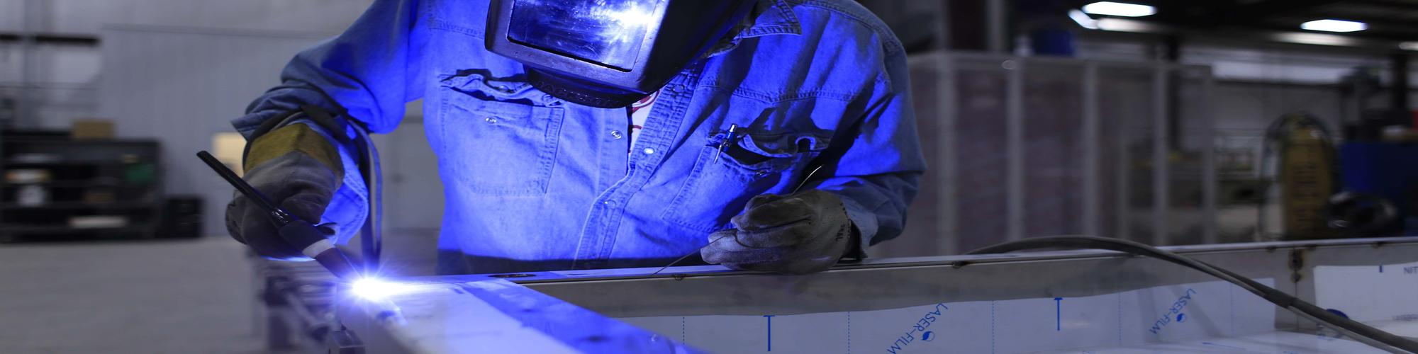 soudeur sur acier promodule